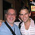 Listener Rob with Daniel Reichard