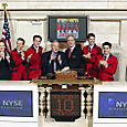 Jersey Boys @ NYSE on 11-10-05