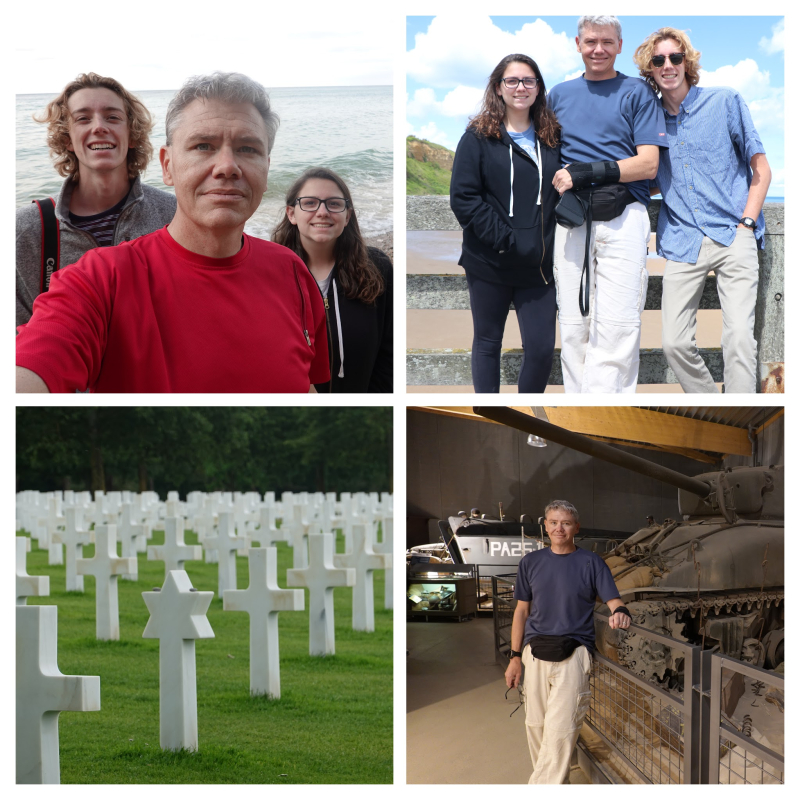 Normandy-Collage