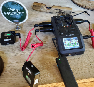 Wireless-podcast-gear