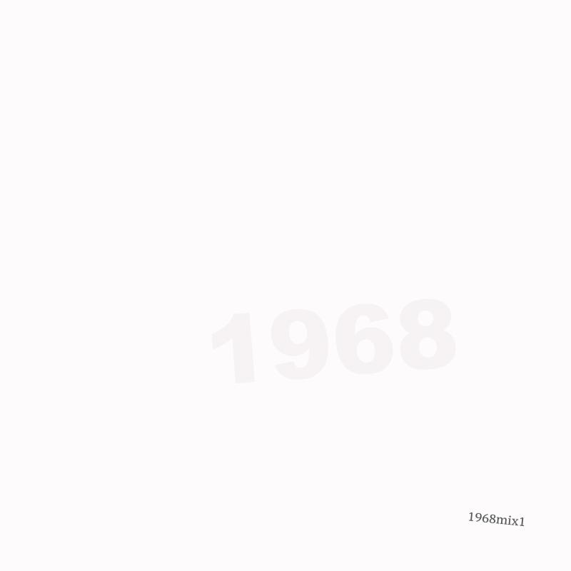 1968 Mixtape 1 Chris Mathis