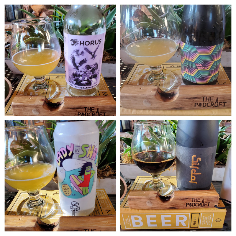 Episode-53-ThePodCraft-Beer-Show-Collage-Of-Beers-Poured