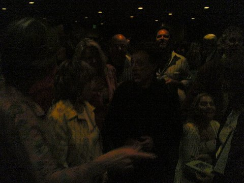 Frankie Valli at the La Jolla Playhouse after show party