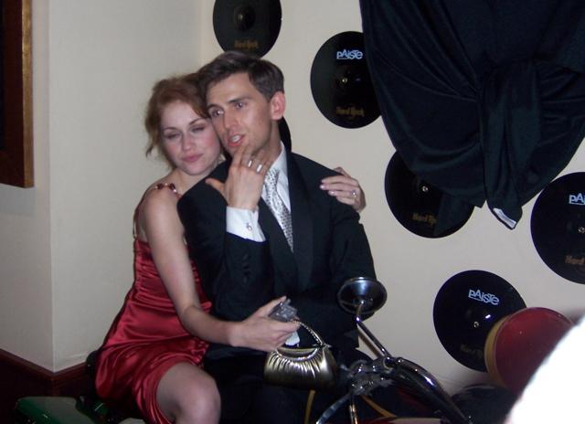Daniel Reichard And Erica Piccininni