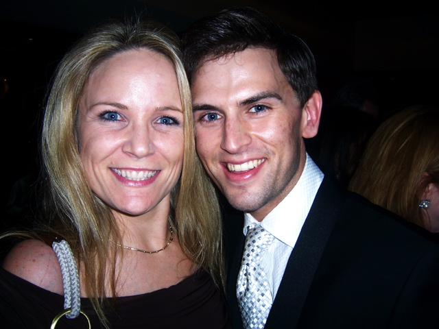 Gina with Daniel Reichard
