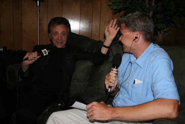 Another Inteview Picture with Frankie Valli and Steve Holden