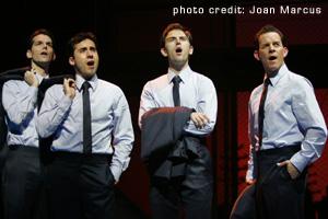 Jersey Boys Broadway Singing Act