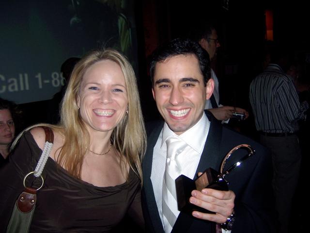 John Lloyd Young with Tony + Gina