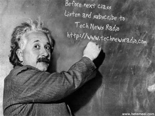 Albert Einsteing on TechNewsRadio.com