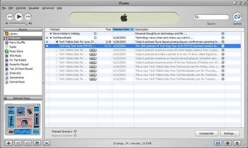 Tech News Radio in iTunes